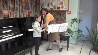 Открытый урок, вторая часть: Суворова Елена Викторовна - ГБУДО г. Москвы