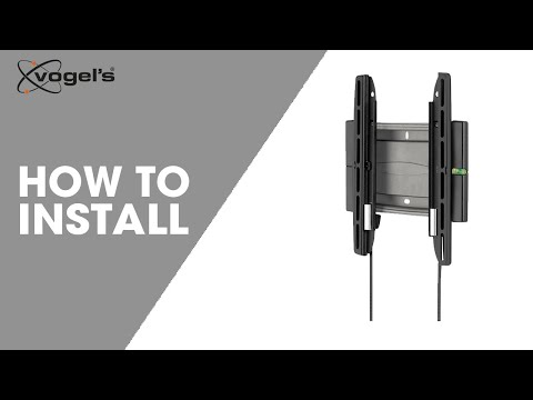 How To install EFW 8105, 8206, 8305 and  8405 | wall mount | Vogel's
