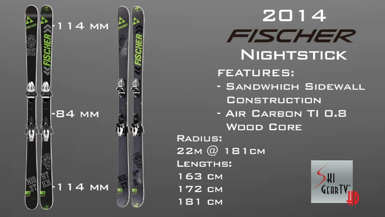 c2e5b3b0c9 2014 Fischer Nightstick パーク&パイプ Ski Test with Tony Hildebrandt