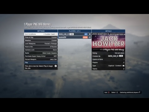GTA Creator Make a 1 Player CAPTURE Solo money Glitch Make $10.0.0.0.0.0.0.0 Dollers In 10 Minutes