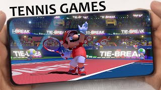 TOP 10 BEST TENNIS GAMES FOR ANDROID/IOS IN 2020/2021