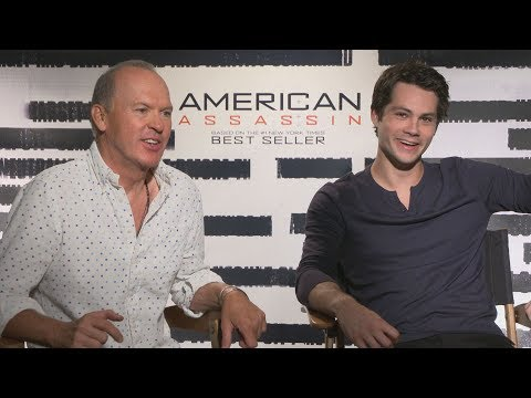 Dylan O'Brien & Michael Keaton on the surprisingly difficult part of making AMERICAN ASSASSIN