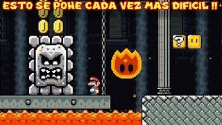Esto se pone CADA VEZ MAS DIFICIL !! - New Super Mario World 2 con Pepe el Mago (#6)