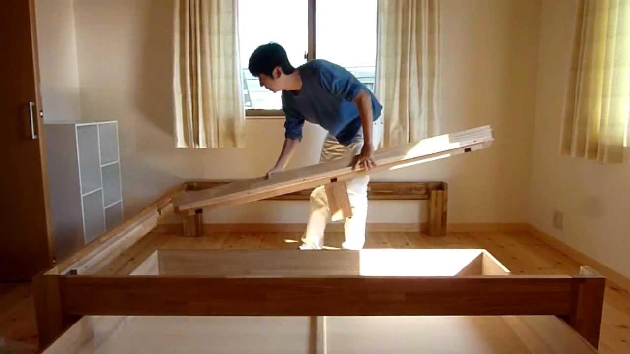 畳ベッドの組立事例 - YouTube