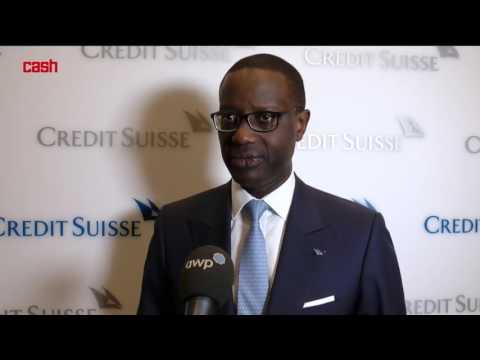 Tidjane Thiam, CEO der Credit Suisse