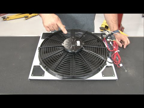 Hqdefault on Mustang Electric Fan Shroud
