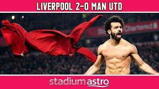 Liverpool 2 - 0 Man Utd | EPL Highlights | Astro Supersport