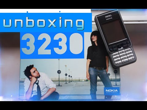 NOKIA 3230 OLD STOCK 2004 UNBOXING ONLY