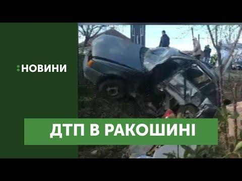 Аварія трапилася в с.Ракошино на Мукачівщині