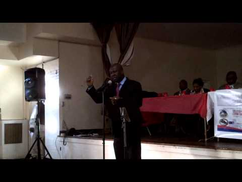 Cllr. Kwame A. Clement, Keynote Speaker on Dual Citizenship in Liberia.MP4
