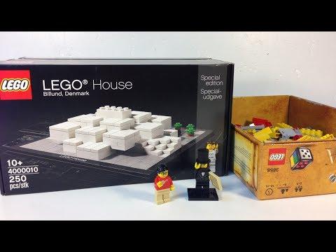 LEGO Haul #185 - LEGO House from Billund Denmark and Brick & Pieces