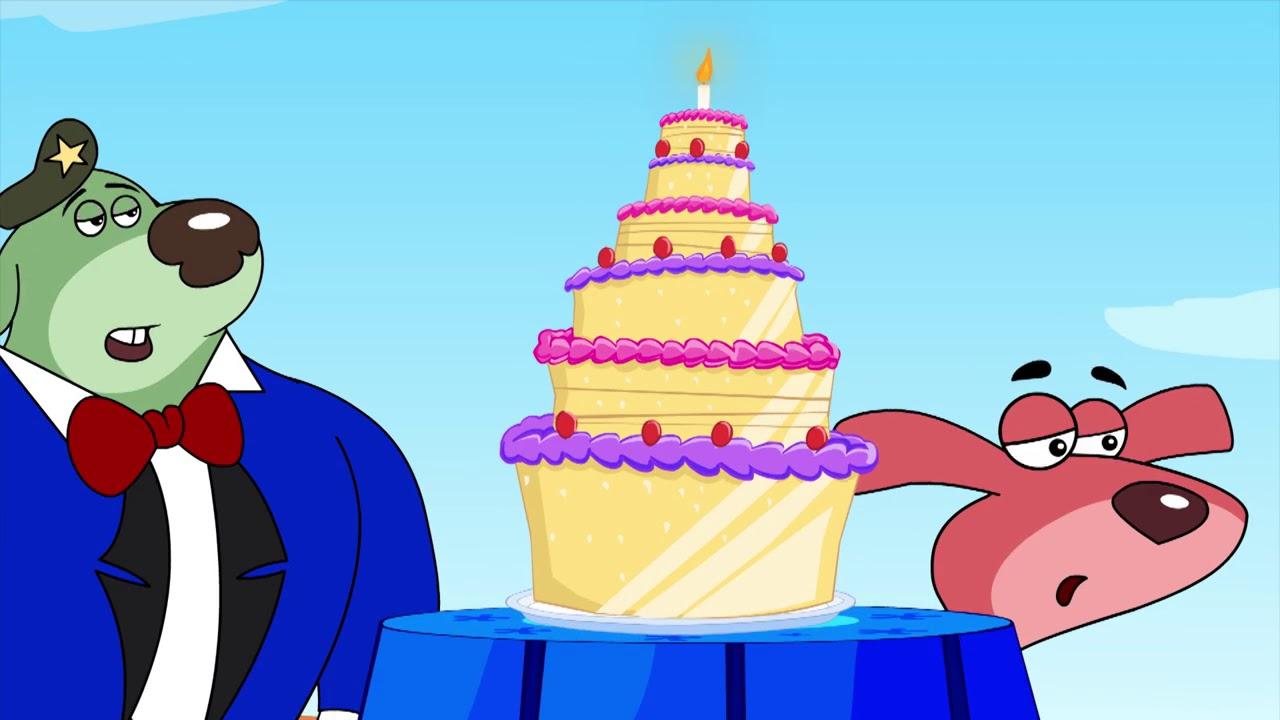 Rat-Ataque en español   Fiesta de cumpleaños de Doggy Don  Dibujos Animados para Niños CaricaToonz