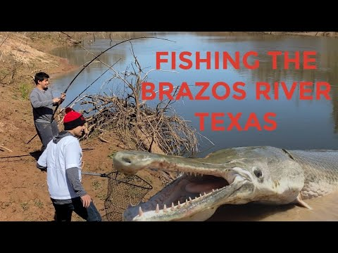 Fishing The BRAZOS RIVER