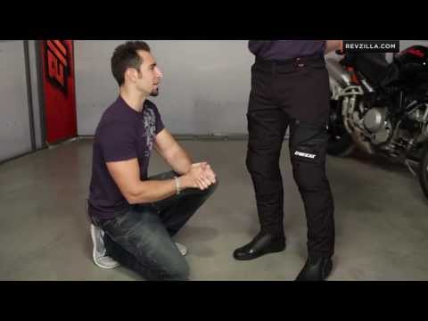 Dainese New Drake Air Textile Pants Review at RevZilla.com