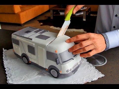 Geburtstagsuberraschung Wohnmobil Torte Youtube
