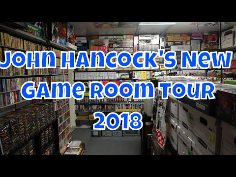 John Hancock's New Game Room Tour 2018