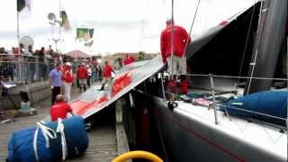 Wild Oats: Furling the Sail in Hobart