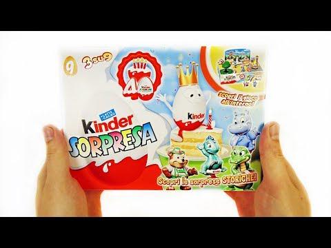 Киндер Сюрпризы ВЕСЕЛЫЙ ЮБИЛЕЙ итальянский набор 2014 года! Rare Kinder Surprise eggs unboxing #30