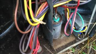Tripped breaker HVAC service call