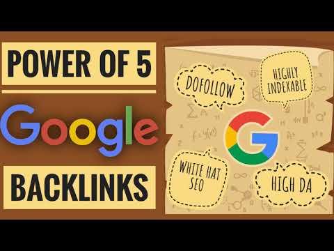 Power Of 5 Google Backlinks | Episode 16 | Hashtag SEO