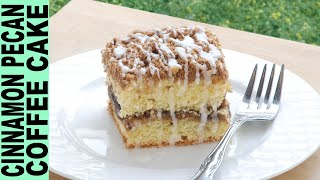 GLUTEN FREE COFFEE CAKE How to Make Gluten Free Cinnamon Pecan Coffee Cake Recipe