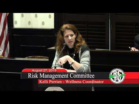 Risk Management Committee - August 27, 2015