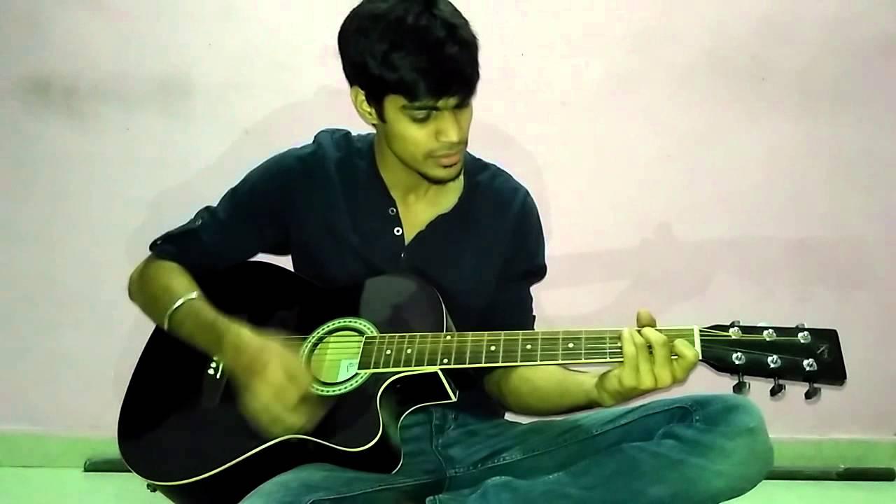 Jeena Jeena Guitar cover by Atif Aslam - Badlapur - YouTube