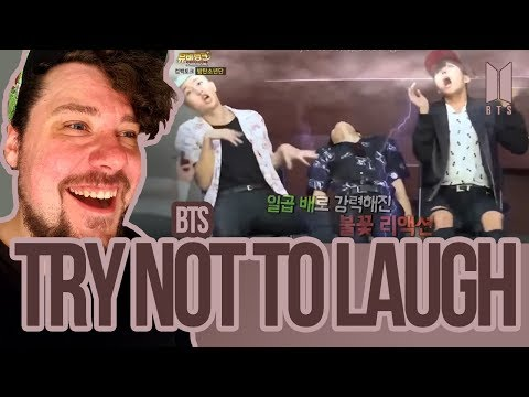 Mikey Reacts to BTS - TRY NOT TO LAUGH!