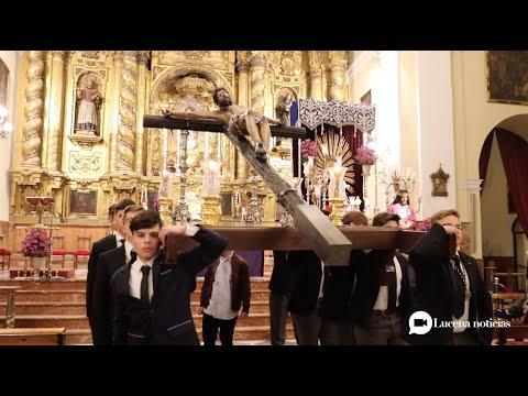 VÍDEO: Cuaresma Lucena 2020: Reportaje sobre el Vía Crucis del Crucificado de la Pasión.