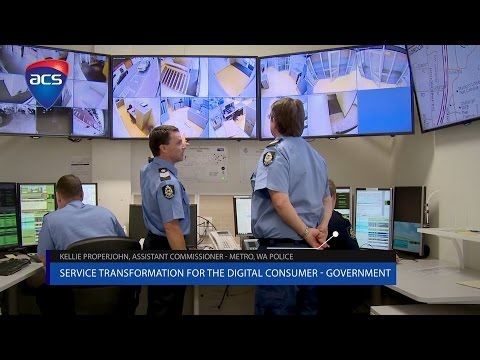 Service transformation for the digital consumer – Government - Australia Post & WA Police