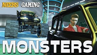 GTA 5 Arena Wars - Monsters to the Death!!!