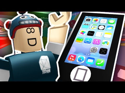 ESCAPE THE GIANT IPHONE?! | Roblox