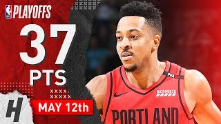 CJ McCollum Full Game 7 Highlights Blazers vs Nuggets 2019 NBA Playoffs - 37 Points, CLUTCH