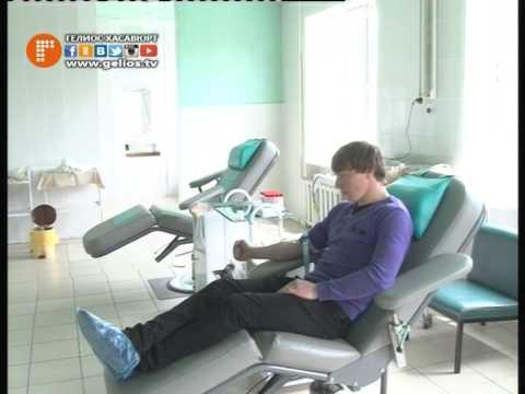 На станции переливания крови города Хасавюрт прошла акция с участием студентов ССУЗов и ВУЗов.