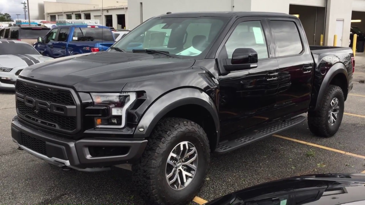 2018 Ford F150 Raptor - Shadow Black - Quick Walk Around ...