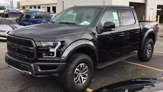 Take a look at this beautiful 2018 ford f150 raptor! vehicle is the shadow black color!