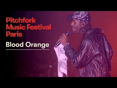 Blood Orange | Pitchfork Music Festival Paris 2018 | Full Set