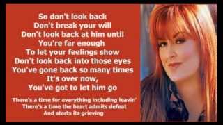 Watch Wynonna Judd Dont Look Back video