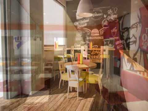 Interior design for small fast food shop Cafe bar layout ...