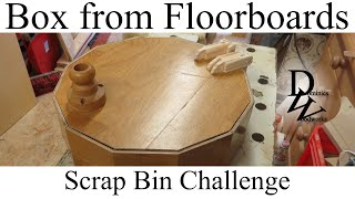 Make A Box From Floor Boards - Scrap Bin Challenge