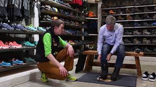видео Туристическая обувь