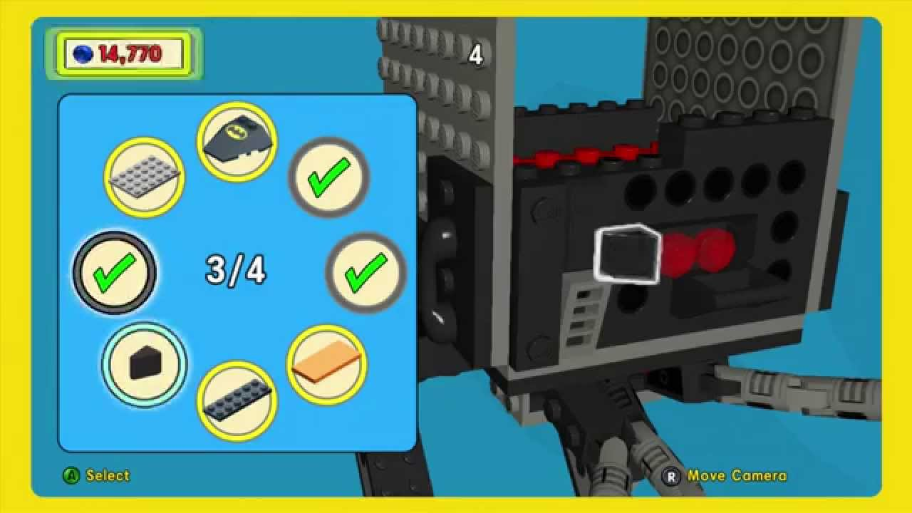 Lego Movie Videogame Micro Manager Golden Instruction Build 11 Youtube