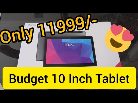 Best Budget Android Tablet for Lockdown Class | Lava Magnum XL 10 Inch Screen size | Made In India