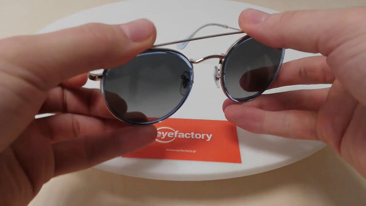 ac57da4630 Ray-Ban Sunglasses RB3647N 9067 71 - YouTube