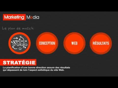 Les principes de la conception d'un beau design Web par l'agence Web Marketing Media
