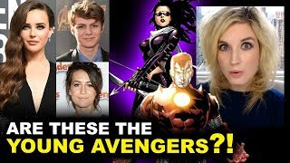 Avengers 4 Katherine Langford - Young Avengers?!