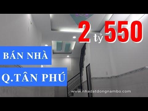 Bán nhà quận Tân Phú dưới 3 tỷ, hẻm 28 Nguyễn Nhữ Lãm, ngay chợ vải Phú Thọ Hòa