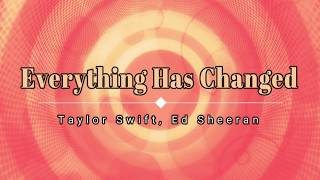 Taylor Swift, Ed Sheeran - Everything Has Changed (Lyric Video) [HD] [HQ]