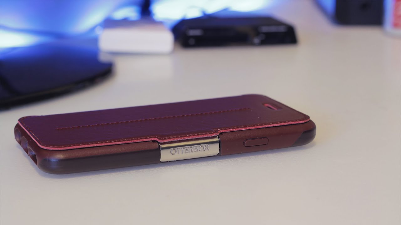check out 3bc5f c7185 OtterBox Strada Leather Folio Case for iPhone 6 Review