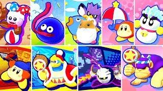 Kirby Star Allies - All Friend's Quotes & Bios + Dream Friend's Splash Screens